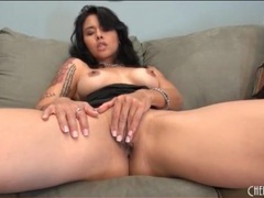 Dana vespoli masturbates in little black dress videos