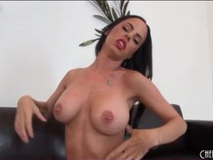 Fake tits pornstar brandy aniston rides sybian movies at sgirls.net