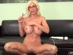 Milf puma swede in solo masturbation porn movies at lingerie-mania.com