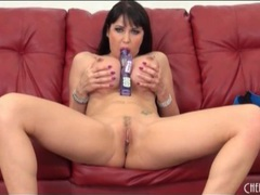 Milf with big round fake tits masturbates movies at find-best-ass.com