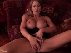 Huge titty milf leigh darby masturbates vagina movies at find-best-lingerie.com