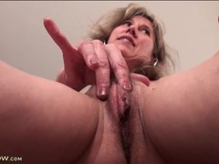 Milf pussy lips and small tits in close up movies at sgirls.net