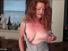 Redhead mature veronica smith in sexy corset movies at find-best-babes.com