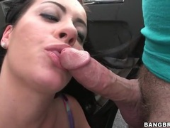 Mandy haze blowjob in a parking lot movies at sgirls.net
