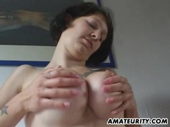 Amateur girlfriend with big tits sucks and fucks movies