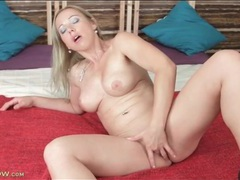 Naked blonde milf beauty masturbates solo movies at sgirls.net