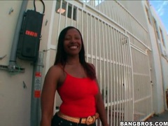 Black girl cherokee dass shakes it in public movies at kilopills.com