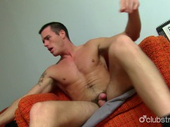 Sexy straight guy jake masturbating movies