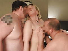 Filming her fucking two men in a hotel room movies at kilomatures.com