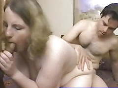 Chubby girl fucked by hubby and friend tubes