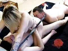 Homemade treesome bisex action with strpon on real cam! movies at find-best-hardcore.com