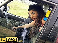 Fake taxi - asian marina maya gets a taste of a big black cock videos