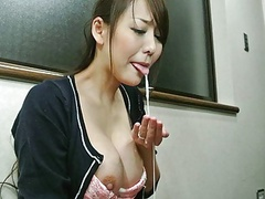 Japanese wife, akari asayiri sucks dick, uncensored movies at kilopills.com