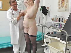 Voyeur doctor secretly films chubby mommy on her gyno exam, Mature, Hidden Camera, Big Boobs, Czech, HD Videos, Orgasm, Big Natural Tits, Chubby, Doctor, Big Tits, Big Ass, Chubby MILF, Spy Cam, Voyeur Cam, Chubby Mature, Real Voyeur, Fucking a Dildo, Mom videos
