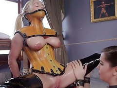 Bdsm entre lesbiennes, Lesbian, BDSM, Femdom, Latex, HD Videos, Bondage, Mistress, Slave, Submissive, Pussy Licking, Hogtied, Hot Blonde, Caress, Fingering Pussy, Slutty Lingerie, Hot Brunette, Lesbienne, Lesbian Softcore, Cord movies at find-best-pussy.com