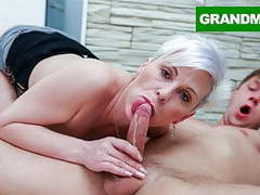 Fucking spicy granny for the first time!, Amateur, Blowjob, Cumshot, Fingering, Hardcore, Old &,  Young, Granny, HD Videos, Cum in Mouth, Mature Pussy, Granny Pussy, Lick My Pussy, Cum Swallow, Horny Granny, First Time Fuck, Old Young Sex, CFNM Cum, As movies at freekilomovies.com