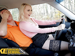 Fake driving school blonde marilyn sugar in black stockings, Babe, Blonde, Blowjob, Cumshot, Pornstar, Czech, Car, Big Cock, European, Black Stockings, Vagina Fuck, Fake Driving School movies at find-best-babes.com