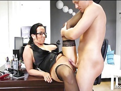 German milf teacher with glasses fuck student at school, Blowjob, Hardcore, Mature, Teen, Big Boobs, MILF, Old &,  Young, German, HD Videos, Teacher, MILF Fuck, Coed, Teacher Fuck, School Fuck, Vagina Fuck, German Fuck, School Students, German Teacher, tubes