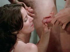 The ultimate pleasure (higher quality), Blowjob, Cumshot, Hairy, Hardcore, Group Sex, Vintage, HD Videos, Orgy, Retro videos