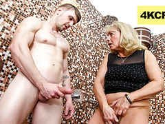 Cfnm - granny rubs hot jizz onto her worn-out pussy, Blowjob, Fingering, Hardcore, Handjob, Old &,  Young, Granny, HD Videos, CFNM, Huge Cock, Granny Pussy, Big Cock, CFNM Handjob, Pussy Rub, Rubbing, CFNM Humiliation, CFNM Blowjob, Jizz Hot, Granny Bj videos