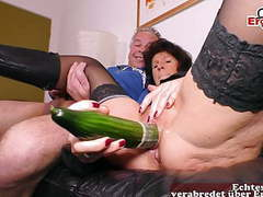 German old mature housewife fuck with cucumber a saggy tits, Amateur, Brunette, Mature, MILF, German, HD Videos, Casting, Skinny, Cucumber, Housewife, Saggy Tits, Wife, Hausfrau, Mature Housewives, Old Fuck, Housewife Fucking, Old German, German Mature, M videos