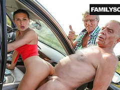 Family picks up lost girl, Amateur, Blowjob, Hardcore, Group Sex, Old &,  Young, HD Videos, Outdoor, Doggy Style, Big Tits, Family, Lost Girl, Beautiful Girls, Hardcore Fucking, Outdoor Sex, Asshole Closeup, Family Sex, Family Fuck, Family Guy, Family  videos