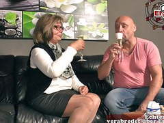 German grandma and mature woman fuck grandson,  videos