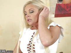 Hot young gilf entertains the boy next door with her pussy,  videos