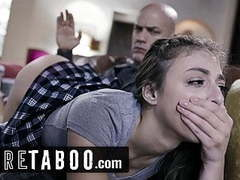 Pure taboo step-daughter spanked and ass-fucked by step-dad,  movies at kilomatures.com