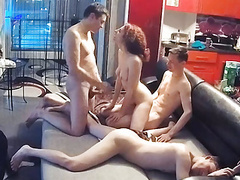 Best friends, threesome fmm orgy action on real hidden cam, Blowjob, Hardcore, Teen, Redhead, Double Penetration, Russian, HD Videos, Doggy Style, Threesome, Cowgirl, Threesome Sex, Amateur Threesome, Teen Threesome, Real Amateur, Teen DP, Teen Group Sex, movies