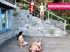 Grandparents are fucking insane, Blowjob, Fingering, Hardcore, Big Boobs, Group Sex, Old &,  Young, Granny, HD Videos, Outdoor, Doggy Style, Hardcore Fucking, Lick My Pussy, Foursome, Grandparents, Amateur Group Sex, Old Young Sex, Full Hd, Sexual Desi videos
