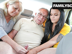 Mother and daughter taking care of grandpa's needs, Blowjob, Fingering, Hardcore, Mature, Group Sex, Old &,  Young, HD Videos, Outdoor, Doggy Style, Family, Car Sex, Mother, Amateur Group Sex, Daughter, Vagina Fuck, Hardcore Sex, Take Care, Family videos
