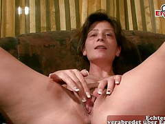 German hairy housewife masturbates at casting, Amateur, Hairy, Mature, Big Boobs, German, HD Videos, Orgasm, Casting, Skinny, Housewife, First Time, Girl Masturbating, Mother, Masturbating, Hausfrau, Asshole Closeup, Fucking a Dildo, Mother Masturbating,  videos