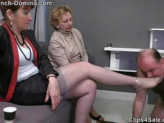 Ms eva - under the feet of the ladies, Mature, Femdom, Foot Fetish, French, Granny, HD Videos, CFNM, Ladies, Females, Footing, Humiliation, Feet, Lady, Miss, Female, Women Feet videos