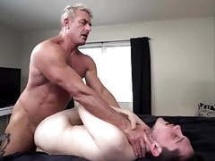 He meets his new step-son.. and barebacks him movies at freekiloporn.com