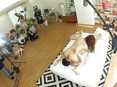 Real japanese wives gather and watch actual jav filming, Asian, Blowjob, Group Sex, Japanese, MILF, HD Videos, 69, Big Natural Tits, Mutual Masturbation, Big Ass, Eating Pussy, Real, Watching, Real Wife, Filming, Zenra, JAV, Japanese Wife, Real Japanese,  videos