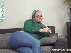 Anal muslim wife tries a cock cigarette movies at freekilomovies.com