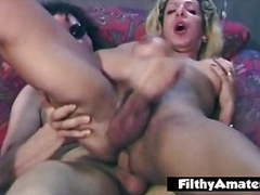 Vintage amateur orgy with the shemale cumming, HD Videos, Filthy Amateur movies at freekiloclips.com