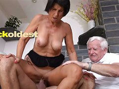 Old man licks cum off his wife yetta, Blowjob, Mature, Old &,  Young, Cuckold, Granny, Threesomes, HD Videos, Doggy Style, Eating Pussy, Threesome, Fingering Pussy, Older Women, Old Young Sex, Amateur Cuckold, Old Man Sex, Grandpa Sex, Muscle Cock, Bes videos