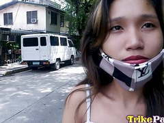 Trikepatrol, skinny filipina hammered by foreign cock movies