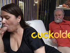 Grandpa is a master at cuckolding, Blowjob, BBW, Mature, Big Boobs, Bisexual, Old &,  Young, Cuckold, HD Videos, GILF, Big Tits, Threesome, Mature Sex, Sloppy Blowjob, Cuckolding, BBW Granny, Old Young Sex, Cock Sucking Sluts, Vagina Fuck, Bi Threesome videos