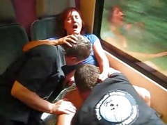German train ride, Amateur, Mature, Public Nudity, German, Train, Threesome, European, Germans, Train Ride, Homemade, Ride, Outdoor German, German Public, German Train, European Public movies at kilovideos.com