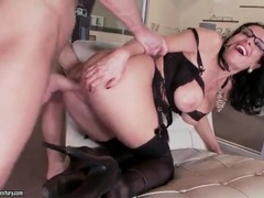 Milf in lingerie and glasses takes big cock movies at find-best-ass.com