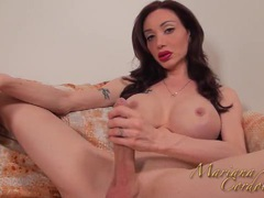 Mariana cordoba playing with my yellow dildo videos