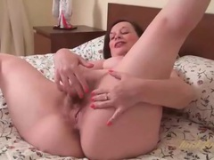 Fat milf in black stockings masturbates pussy movies at sgirls.net