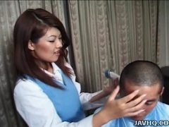 Dominant japanese girl sits on his face videos