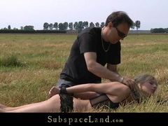 Nasty blonde hardcore fucked in bdsm session movies at adipics.com