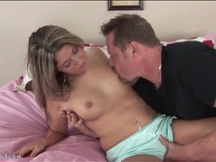 He kisses nina lane on her tits and pussy movies at find-best-ass.com