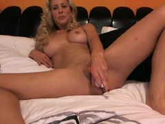Dildo fills the wet pussy of cherie deville movies at sgirls.net