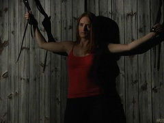 Rebellious redhead slave tamed for a rough bdsm submission movies at kilotop.com